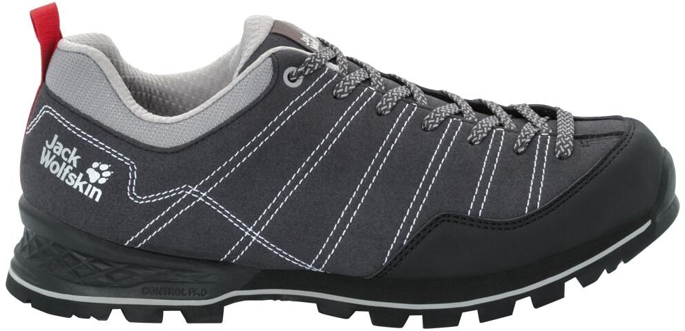 brand new price reduced best deals on Jack Wolfskin Scrambler Low Shoes Men phantom/light grey